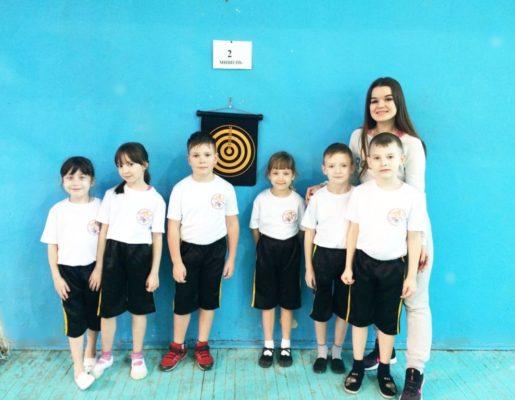 Городские соревнования воспитанников подготовительных групп по дартсу