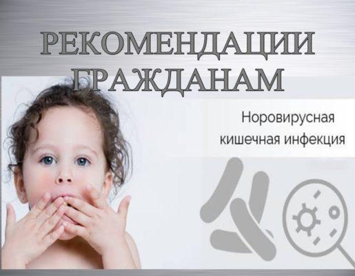 РЕКОМЕНДАЦИИ ГРАЖДАНАМ:  Профилактика норовирусной инфекции